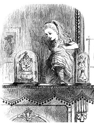 Alice Through The Looking Glass Custom Print