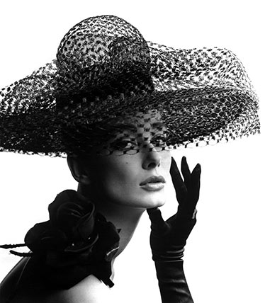Tania Mallet In Madame Paulette Hat Custom Print
